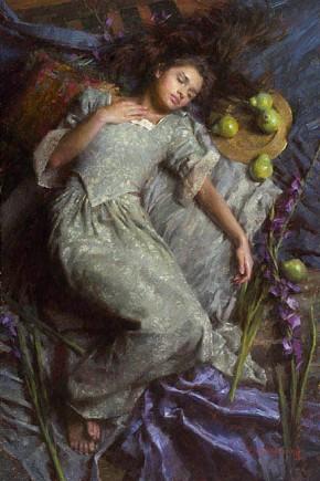 Morgan WestlingDreams In Blue Masterwork Canvas Edition