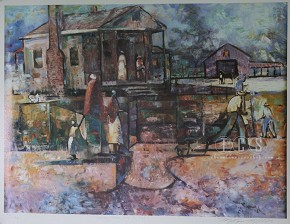 William Tolliver Going Home For A Visit Artist Signed