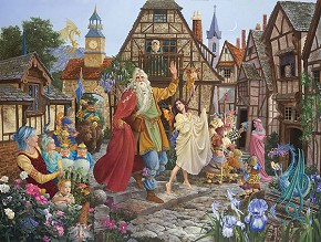 James Christensen The Return Of The Fablemaker Limited Edition Canvas