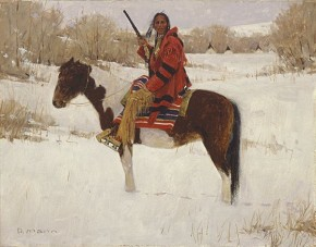 David Mann Winters Whisper By David Mann Giclee On Canvas  Artist Proof