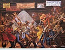 Sugar Shack-Signed by Ernie Barnes Image is watermarked for copyright protection and is not present on the actual art work.