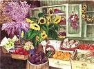 French Market by Gamboa Image is watermarked for copyright protection and is not present on the actual art work.