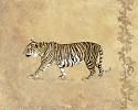 Wild Tiger by Gamboa Image is watermarked for copyright protection and is not present on the actual art work.