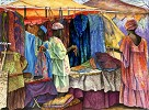 Marketplace - Original by Gamboa Originals Image is watermarked for copyright protection and is not present on the actual art work.