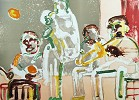 Tenor Sermon Signed Litho 1979 by Romare Bearden Image is watermarked for copyright protection and is not present on the actual art work.
