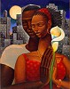 Rhapsody by Keith Mallett Image is watermarked for copyright protection and is not present on the actual art work.