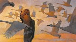 Swan Song by Thomas Blackshear Image is watermarked for copyright protection and is not present on the actual art work.