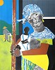 Come Sunday Mother and Child by Romare Bearden Image is watermarked for copyright protection and is not present on the actual art work.