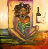 Jade Artist Proof Giclee by William Tolliver Image is watermarked for copyright protection and is not present on the actual art work.