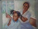 I Remember Mama  Giclee by Brenda Joysmith Image is watermarked for copyright protection and is not present on the actual art work.