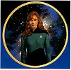 Next Generation Crew - Dr. Crusher by Thomas Blackshear Image is watermarked for copyright protection and is not present on the actual art work.
