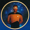 Next Generation Crew - Geordi Laforge by Thomas Blackshear Image is watermarked for copyright protection and is not present on the actual art work.