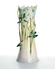 Bamboo Songbird Collection Large Vase Limited Edition