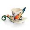 Tiger Swallowtail butterfly cup/saucer set