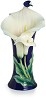 Calla Lily Flower Large Porcelain Vase Limited Edition