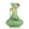 When Happiness Knocks on the Door Pansy vase