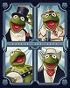 Deco Kermit Giclee on Canvas - From The Muppets
