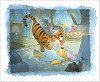 Tigger Tackle Hand Deckled Giclee On Paper - From Disney Winnie the Pooh