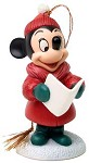 Plutos Christmas Tree Minnie Mouse Caroler Minnie Ornament