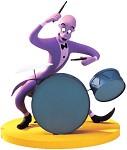 Fantasia 2000 Duke Drumming Up A Dream
