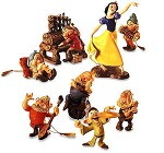 Snow White And The Seven Dwarfs Ornament Set