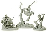 Tarzan Tantor and, Terk Maquettes (matched numbered Set)