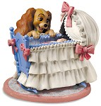Lady And The Tramp Lady And Cradle Welcome Little Darling