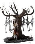 The Nightmare Before Christmas Sally With Skeleton Tree