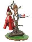 Sleeping Beauty Woodland Creatures On Tree Witness To Romance