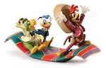 Three Caballeros Panchito, Donald and Jose Airborne Amigos
