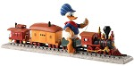 Out of Scale Donald Duck on Train Backyard Whistle Stop