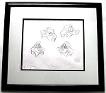The Lion King Timon Original Production Drawing