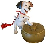 One Hundred and One Dalmatians Lucky Dalmatian Ornament (event)