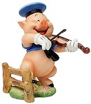 Three Little Pigs Fiddler Pig Hey Diddle Diddle I Play On My Fiddle
