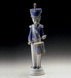 Lladro-Soldier with Drummer
