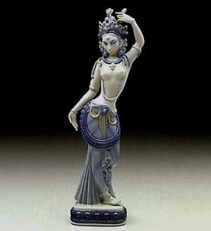Lladro-Hindu Dancer