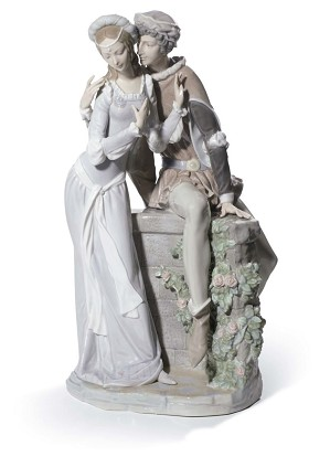 Lladro-Lovers From Verona