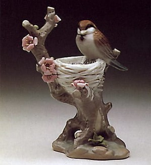 Lladro-Bird in the Nest