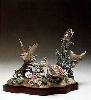 Lladro-Spring Birds
