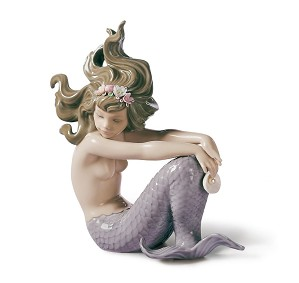 Lladro-Illusion Mermaid