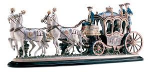 Lladro-XVIIIth Century Coach