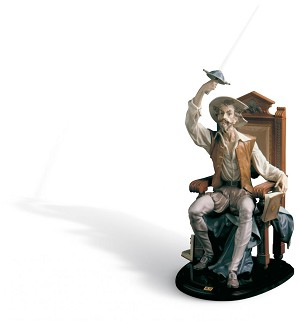 Lladro-I Am Don Quixote