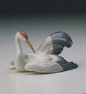 Lladro-Nesting Crane