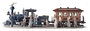 Lladro-A Grand Adventure Train