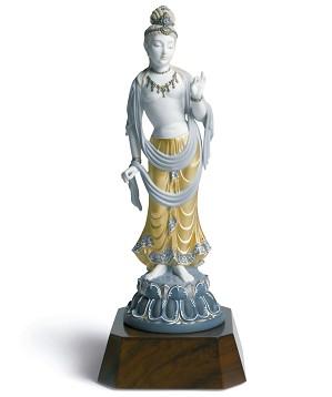 Lladro-Standing Buddha