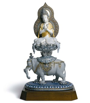 Lladro-WISDOM OF BUDDHA