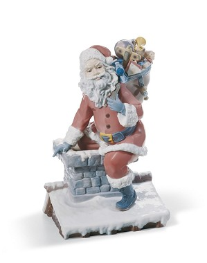 Lladro-Down The Chimney