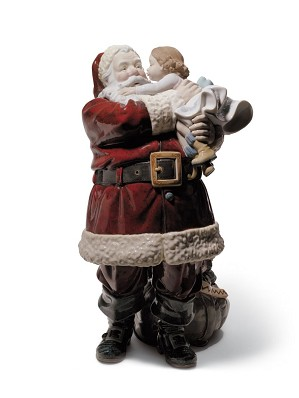 Lladro-Santa I've Been Good!
