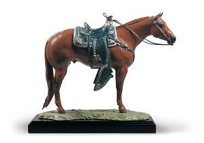 Lladro-Quarter Horse