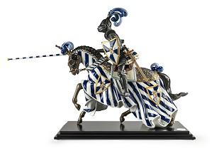 Lladro-Medieval Knight